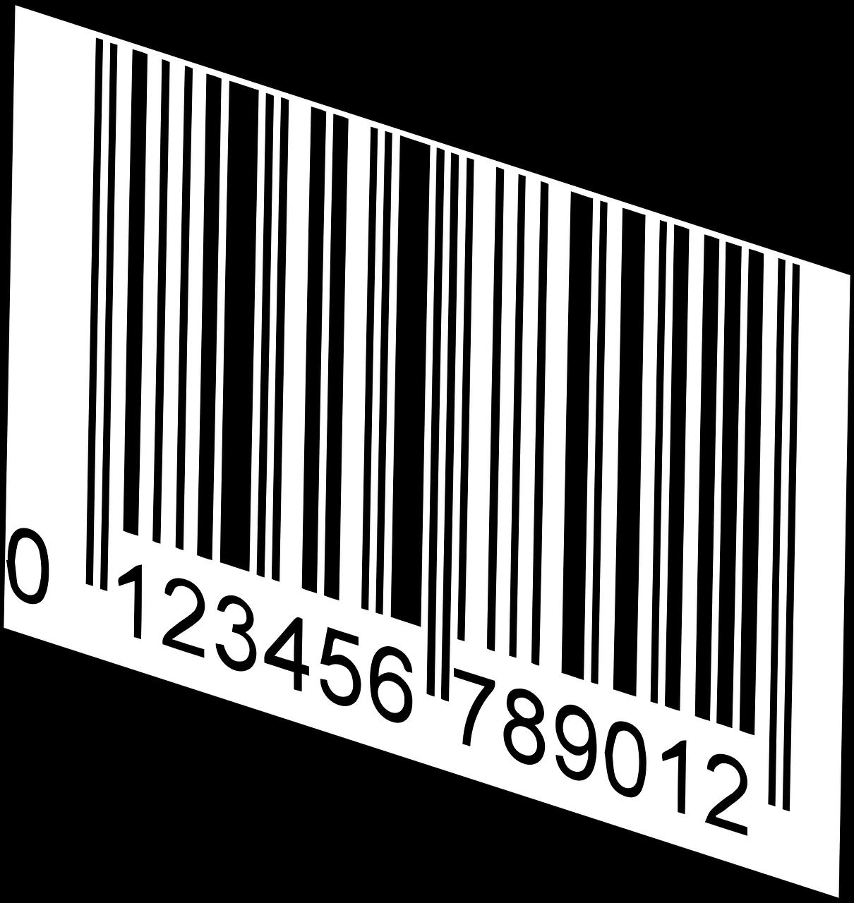 code-barres à 12 chiffres