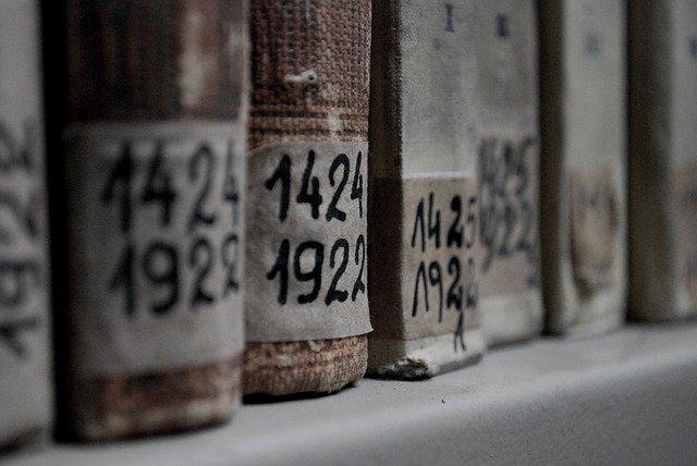 livre dans les archive