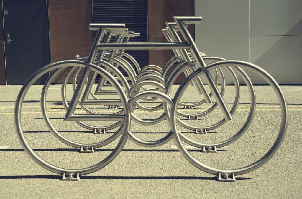 Parking vélo extérieur