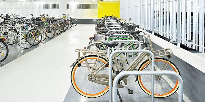 Parking à vélos entreprise